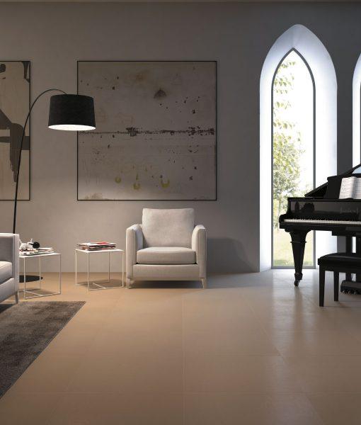 Architecture Beige Gloss 600 x 600