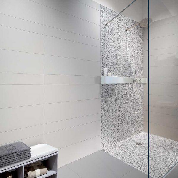 Architecture Cool Grey Gloss, White Matte, Mosaico
