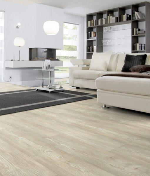 Arturo White Vinyl Flooring