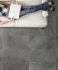 quartz stone black matte