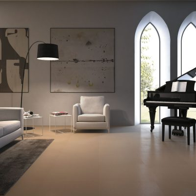 Architecture Beige Gloss 600 x 600