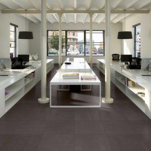 Architecture Dark Grey Gloss 600 x 600