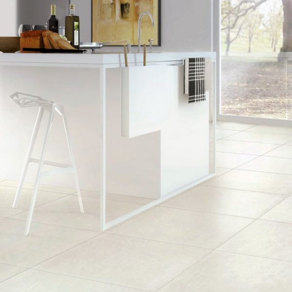 Architecture White Gloss 600 x 600