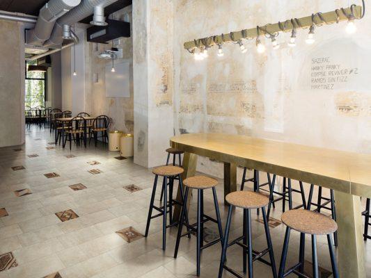 Bricklane Cotto Tiles Bar