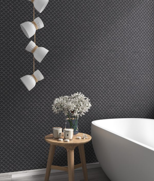 mosaics by malford - soul matte dark grey