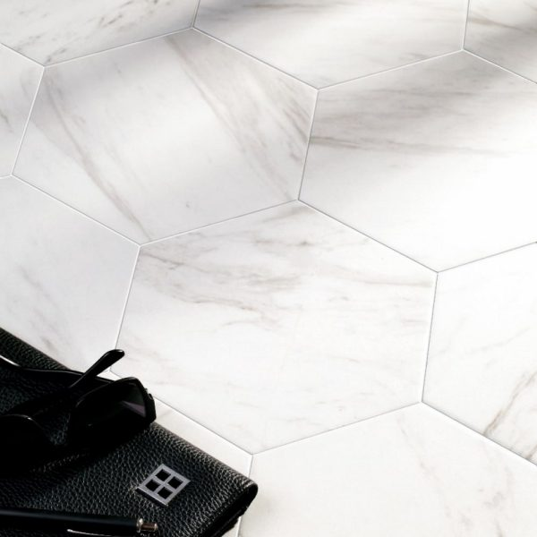 Carrara Hexagon Malford Tiles Singapore