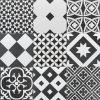 Ciment 200 Mix Noir&Blanco Malford Tiles Singapore