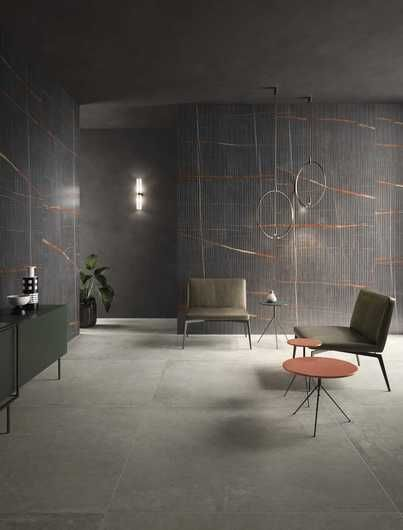 Eclectic Pinstripe Dark Malford Tiles Singapore 1