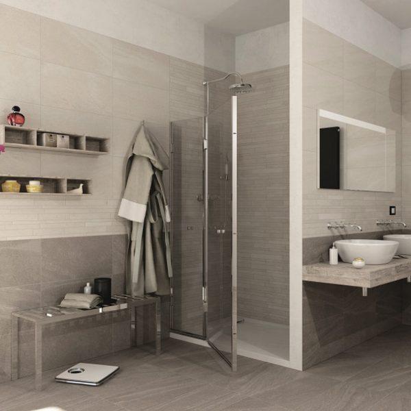 I Rock Bianco & Brown Malford Tiles Singapore