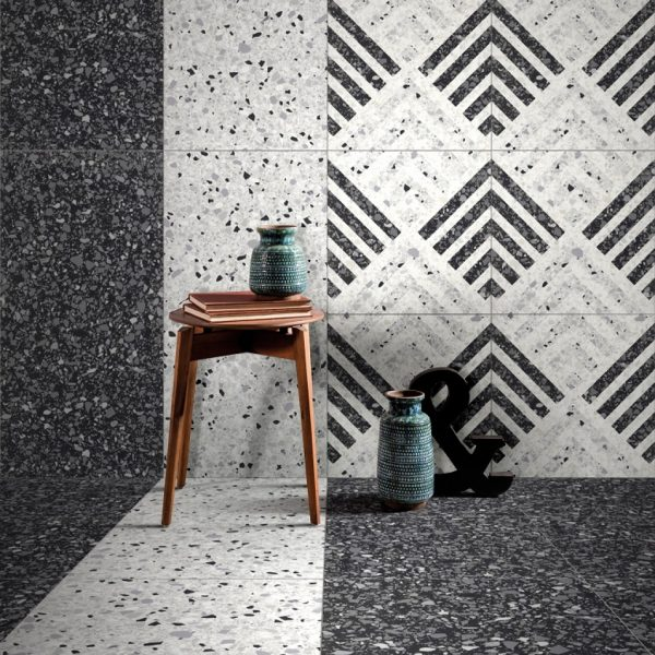 Marmette Bianco & Dec Triangolo Malford Tiles Singapore 1