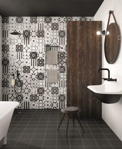Patchwork B&W Mix Malford Tiles Singapore