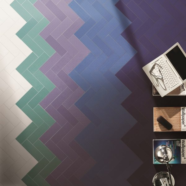Vibration White Mint Purple Blue Malford Tiles Singapore