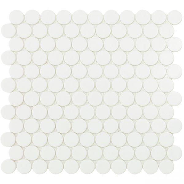 circle matte white