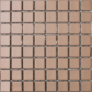 podium copper 38x38mm metallic glass mosaics
