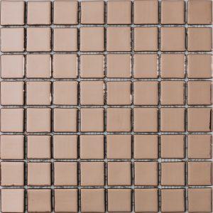 podium copper 38x38mm metallic glass mosaics