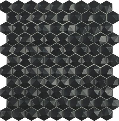 nordic black hex 3d