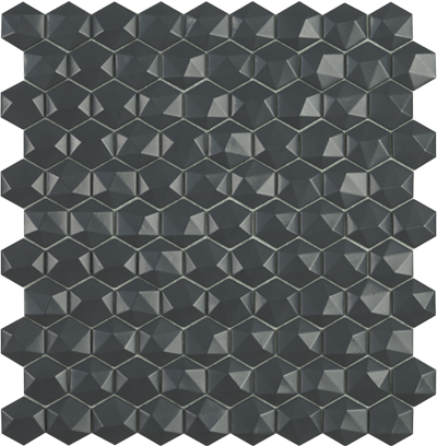 nordic dark grey hex 3d