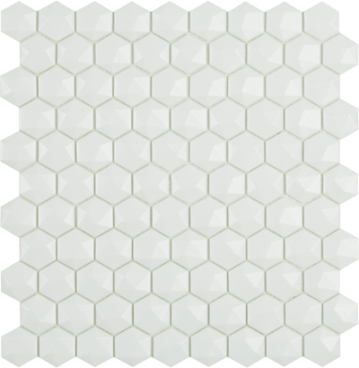 nordic white hex 3d