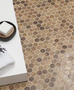 wood royal light hex mosaics 1