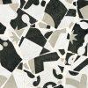 Cementine Cocci B&W by Malford Ceramics Tiles Singapore