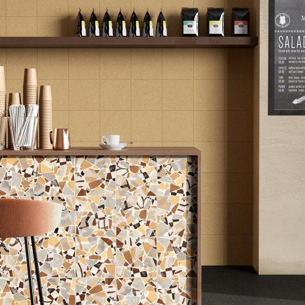 Cementine Cocci Ocra by Malford Ceramics Tiles Singapore 1