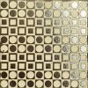 Materic Geo Metallic Brown by Malford Ceramics Tiles Singapore