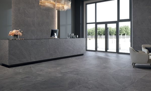 Slate Stone Anthracite by Malford Ceramics Tiles Singapore 1